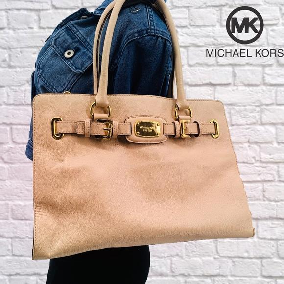 Michael Kors Handbags - Michael Kors Hamilton Satchel Shoulder Bag